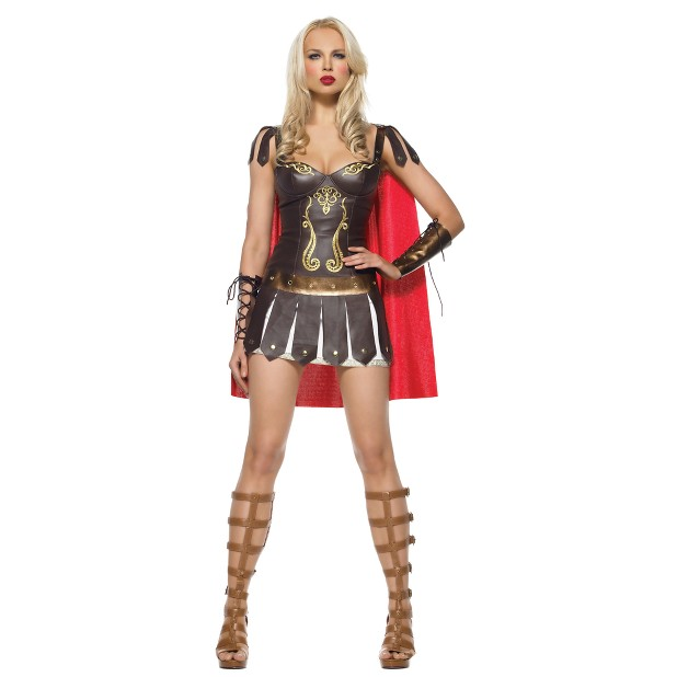 Princess and I am definitely getting a Xena vibe. On one hand,